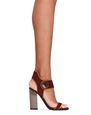 "LANVIN Sandals Woman ""NEW ELLIPTIQUE"" HIGH-HEELED SANDAL f"