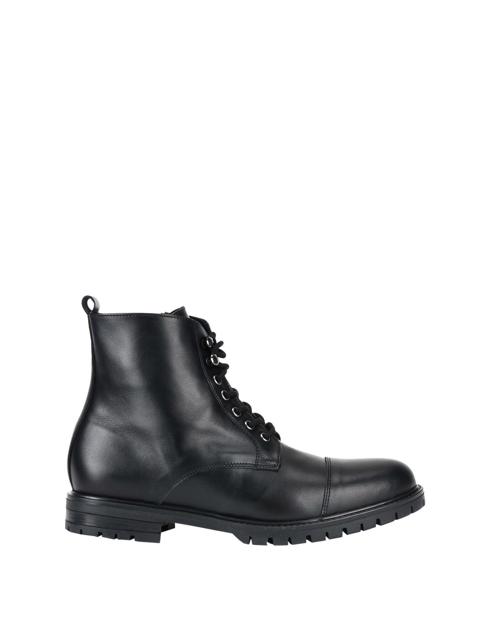 《送料無料》YLATI HERITAGE メンズ ショートブーツ ブラック 41 牛革(カーフ)