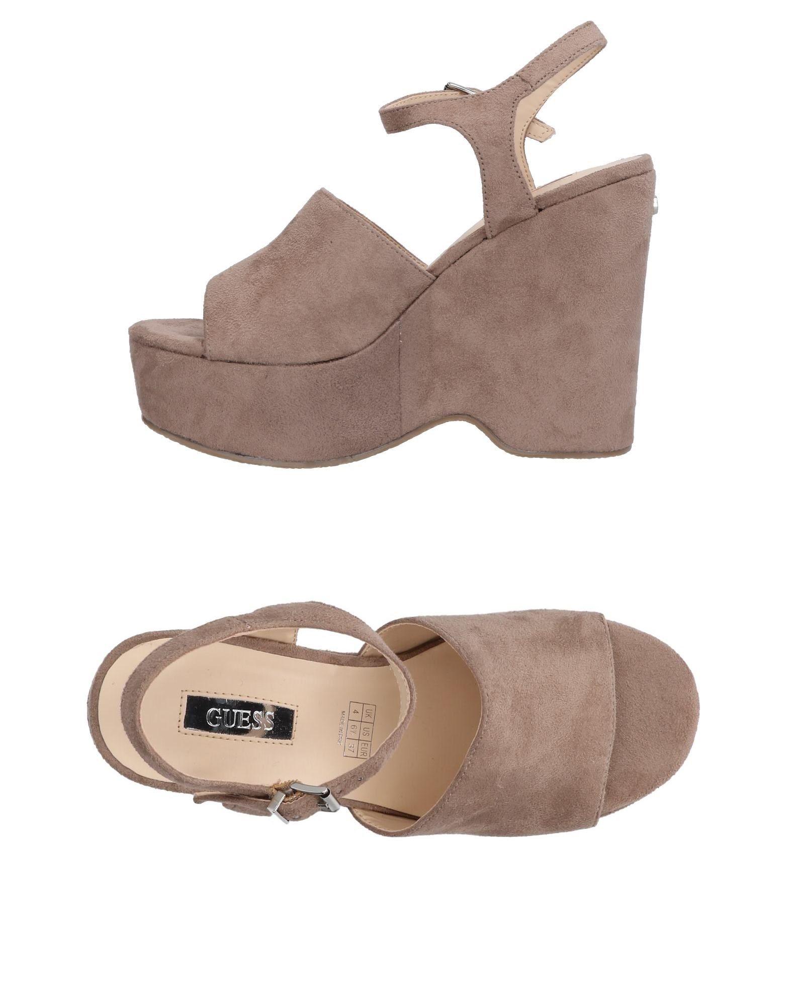 GUESS Damen Sandale7 grau
