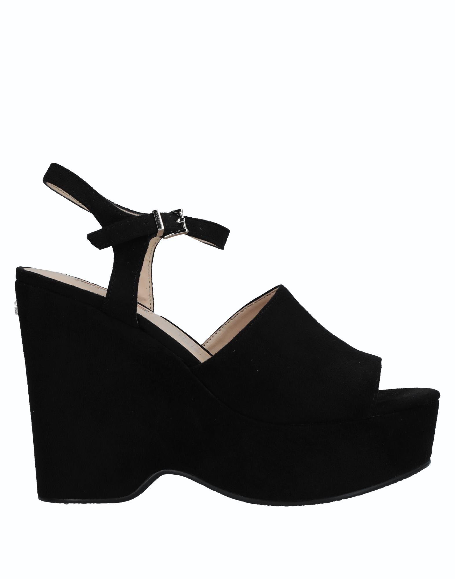 GUESS Damen Sandale11 schwarz