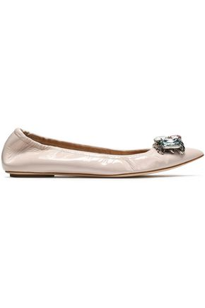 CASADEI Pointed-Toe Flats
