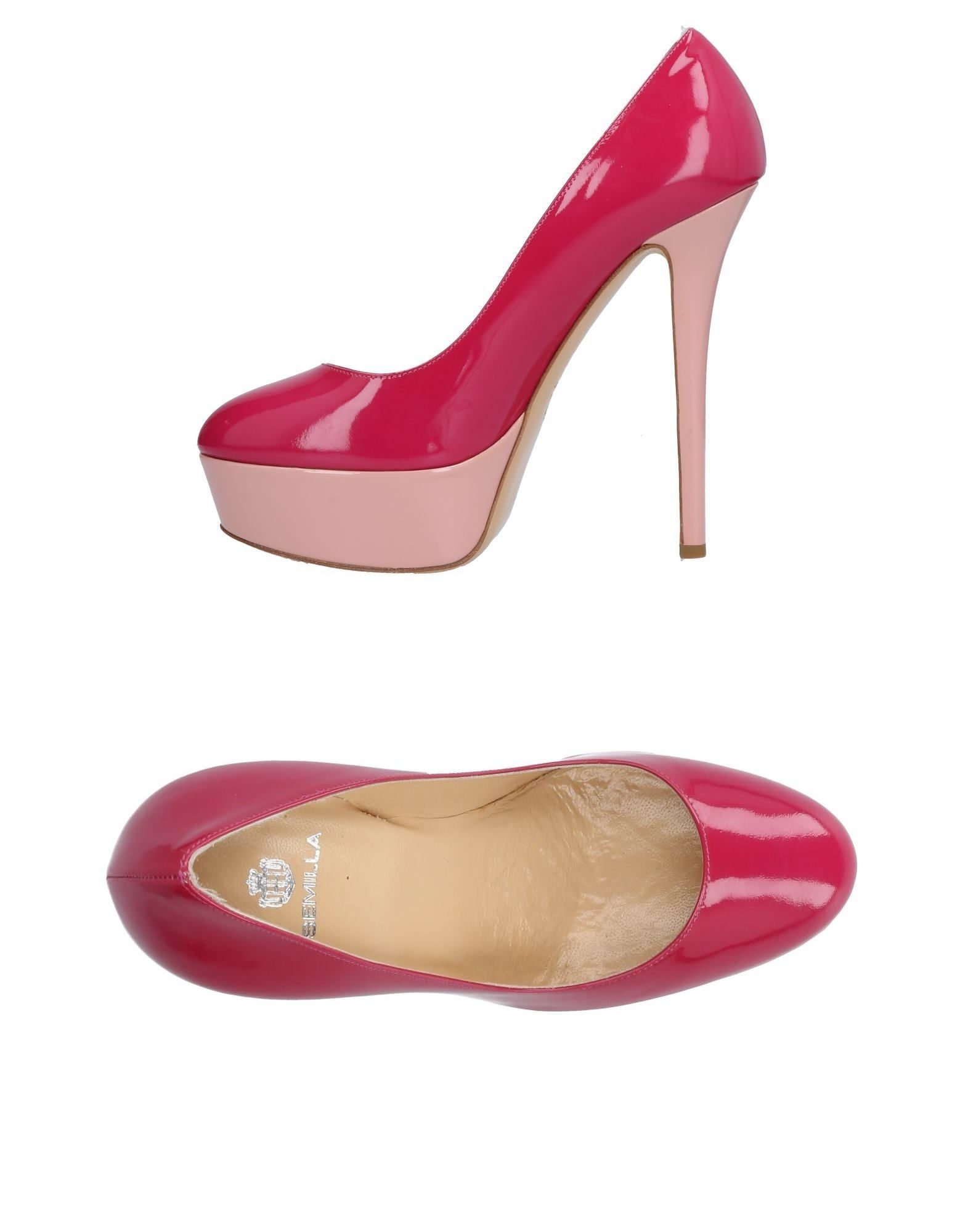 SEMILLA Pump in Fuchsia