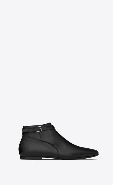 SAINT LAURENT Boots Man Connor 10 jodhpur boot in black leather a_V4