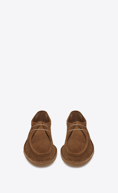 SAINT LAURENT Classic Shoes Man Nino derby in suede b_V4