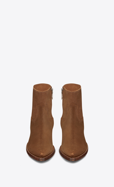 SAINT LAURENT Boots Man Lukas 40 ankle boot in hazel suede b_V4