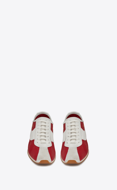 SAINT LAURENT Low Sneakers Homme JAY Sneaker en cuir b_V4