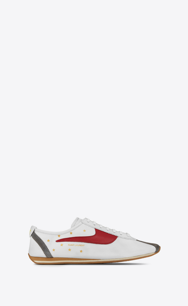 SAINT LAURENT Low Sneakers Homme JAY Sneaker en cuir a_V4