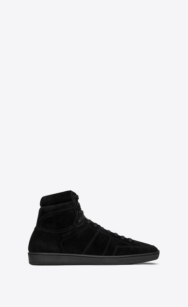 SAINT LAURENT SL/10H Man Court Classic SL/10H sneaker in suede a_V4