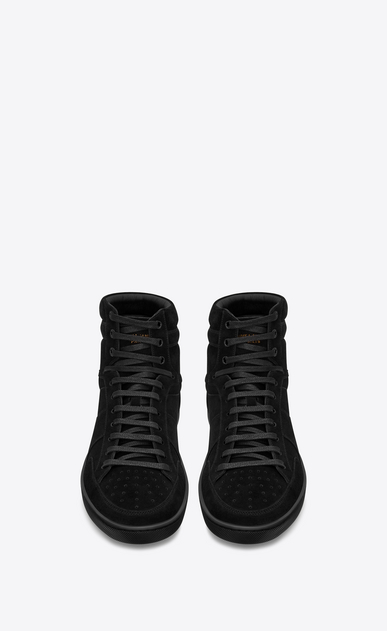 SAINT LAURENT SL/10H Man Court Classic SL/10H sneaker in suede b_V4