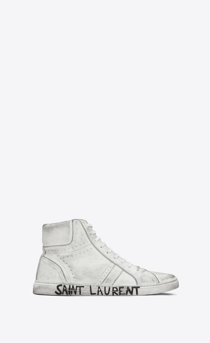 Leather Saint Look In Sneakers Laurent Joe Worn SzMVqpU