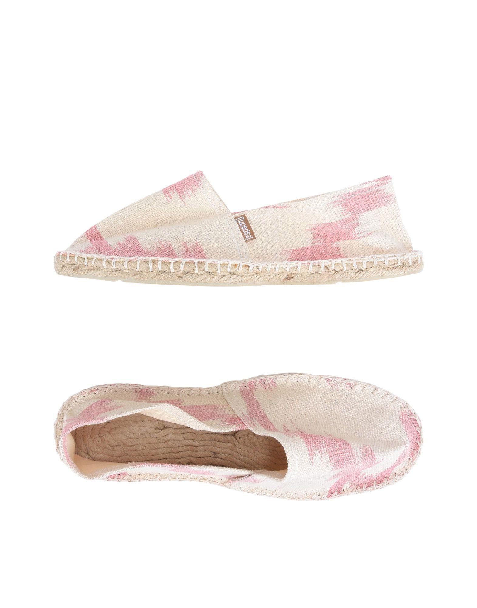 《送料無料》[ESPADRIJ] レディース エスパドリーユ ピンク 36 紡績繊維 CLASSIC IKAT WOMEN