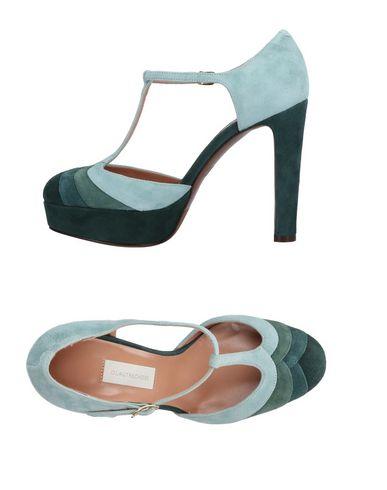 Фото - Женские туфли  светло-зеленого цвета