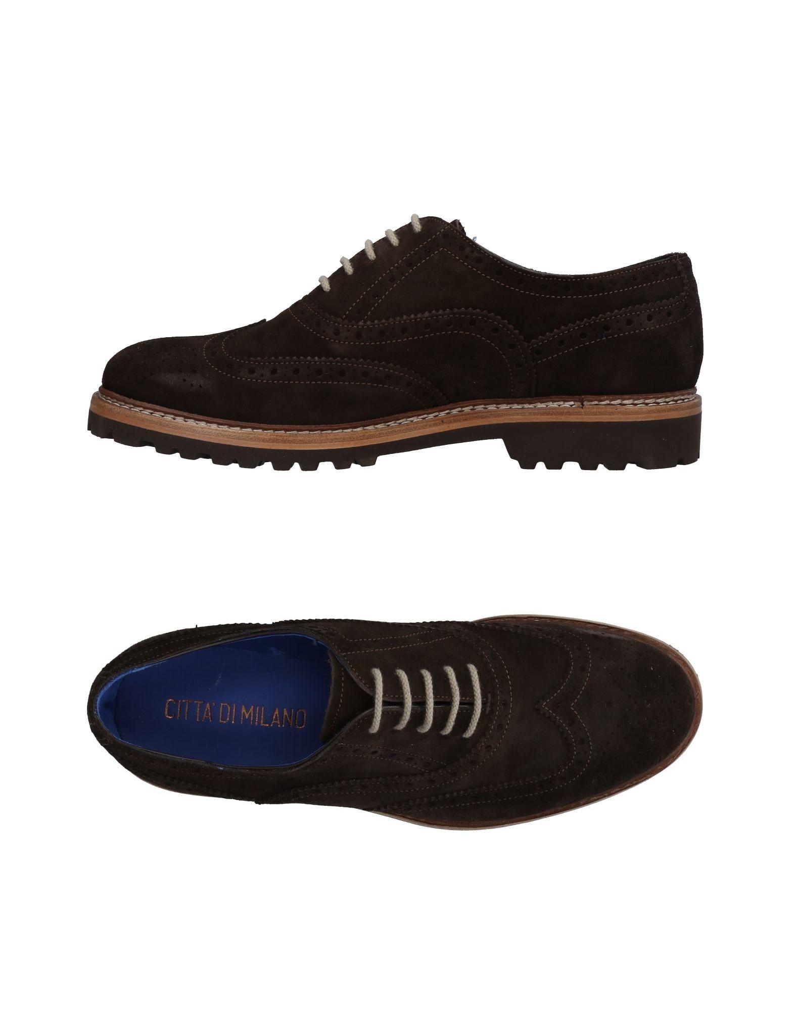 CITTA' DI MILANO Обувь на шнурках citta di milano мокасины