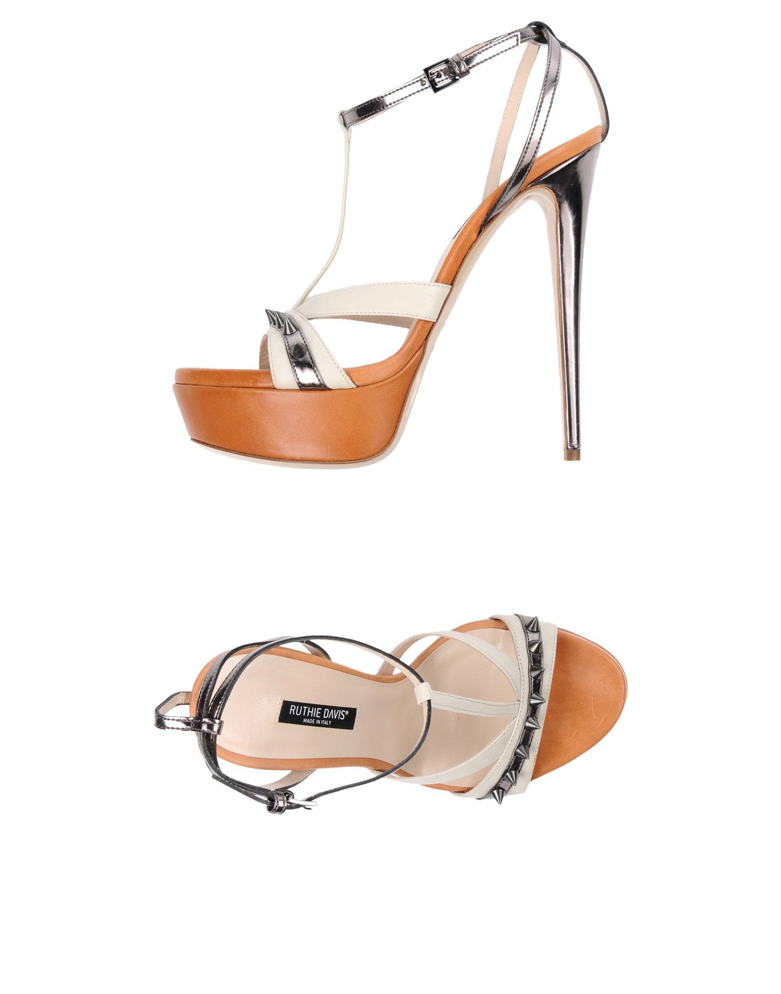 RUTHIE DAVIS Sandals in Ivory
