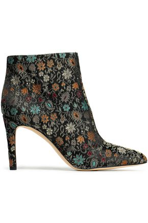 SAM EDELMAN Olette brocade ankle boots