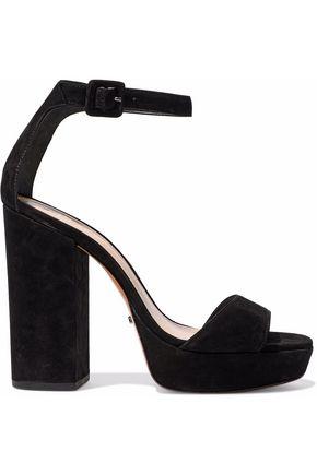 SCHUTZ Mikella suede platform sandals