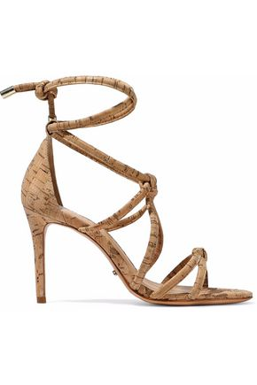 SCHUTZ Nadia knotted cork sandals