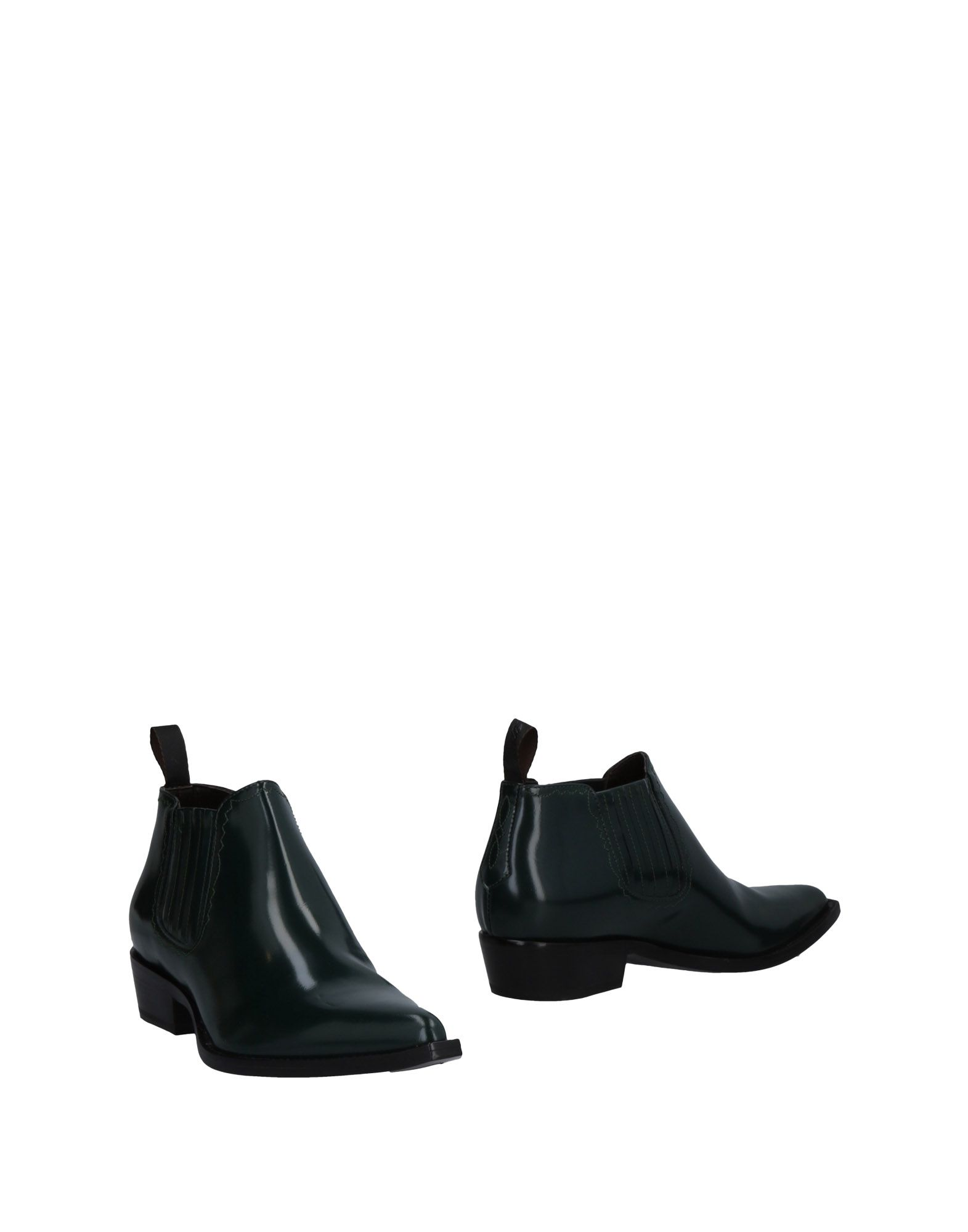 SONORA Ankle Boots in Green