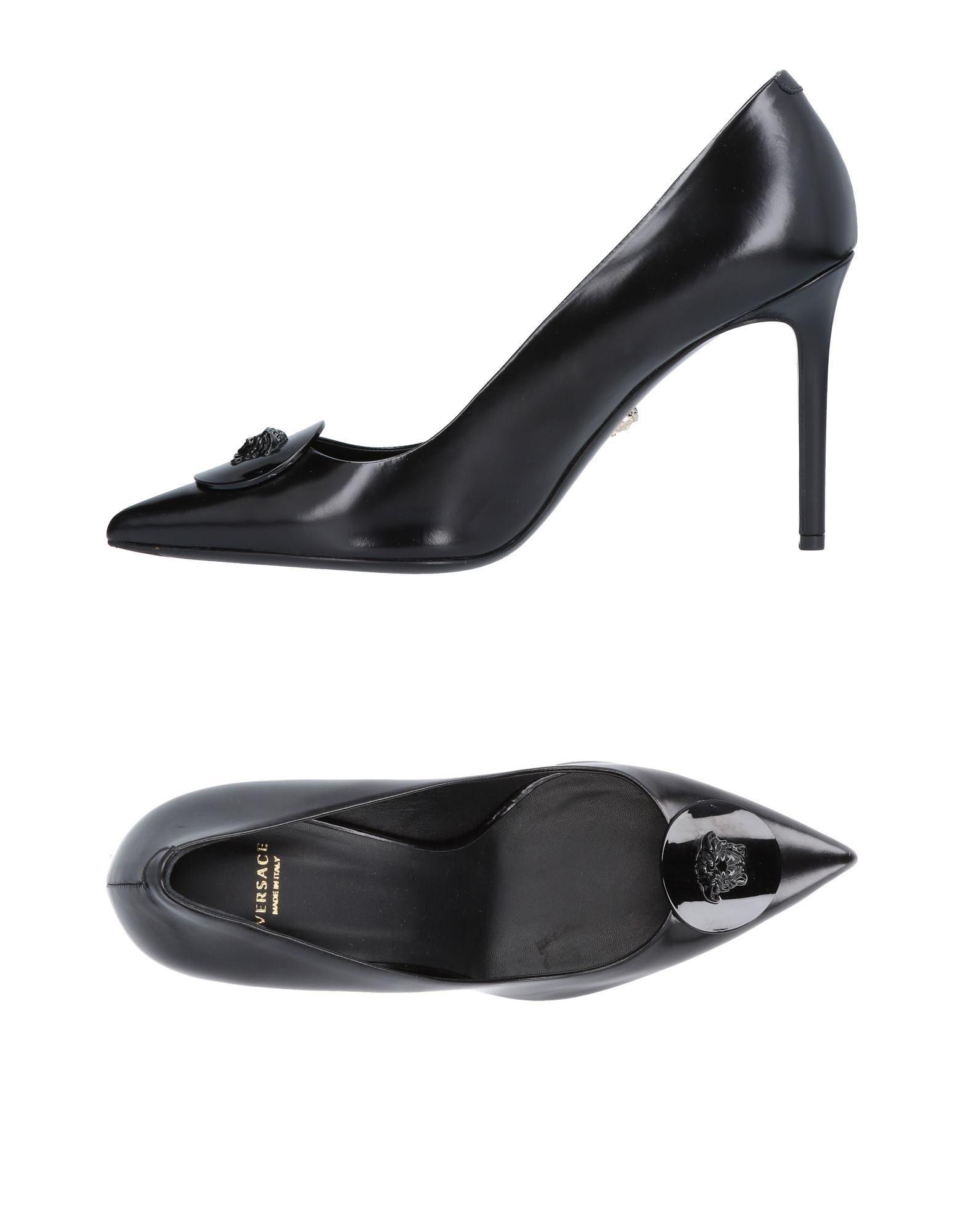 VERSACE Туфли цены онлайн