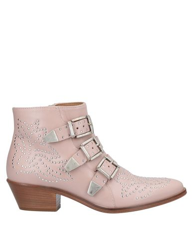 Купить Полусапоги и высокие ботинки от LEMARÉ розового цвета
