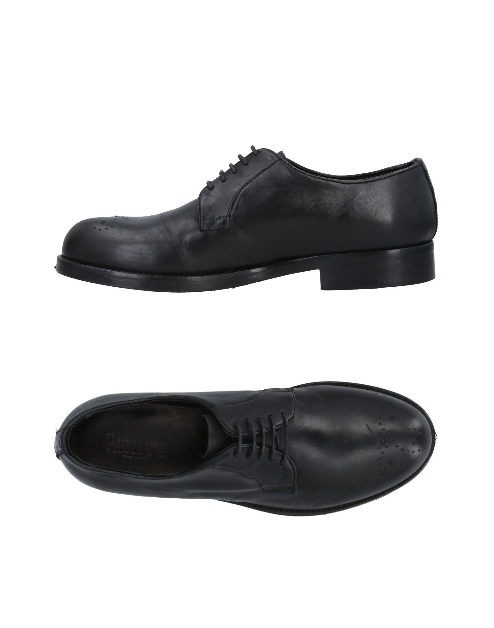 PAWELK'S Laced Shoes in Black