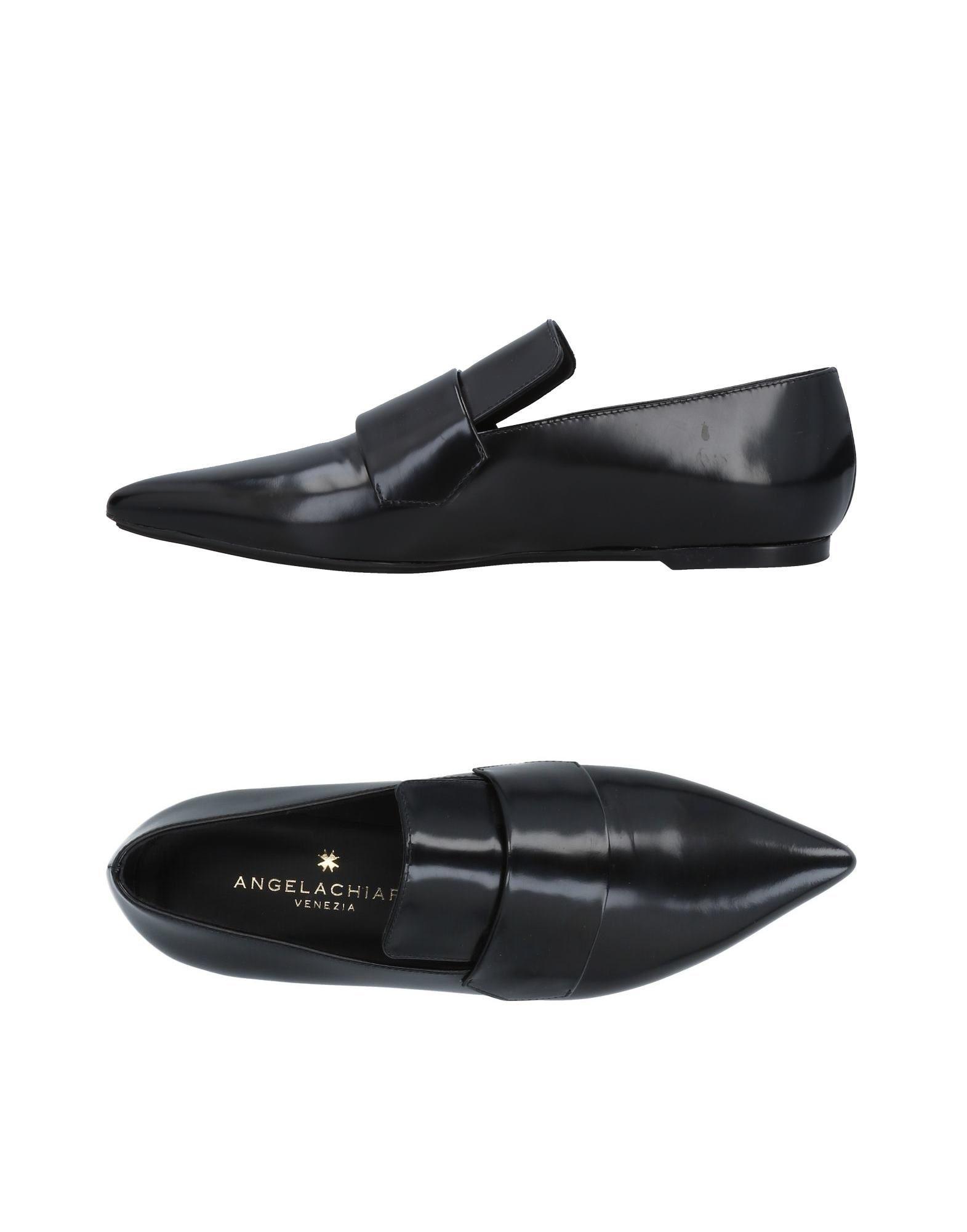 ANGELA CHIARA VENEZIA Loafers in Black