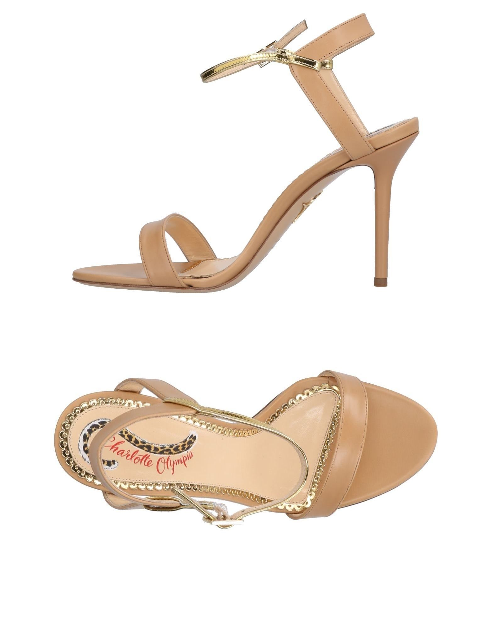 CHARLOTTE OLYMPIA   CHARLOTTE OLYMPIA Sandals   Goxip