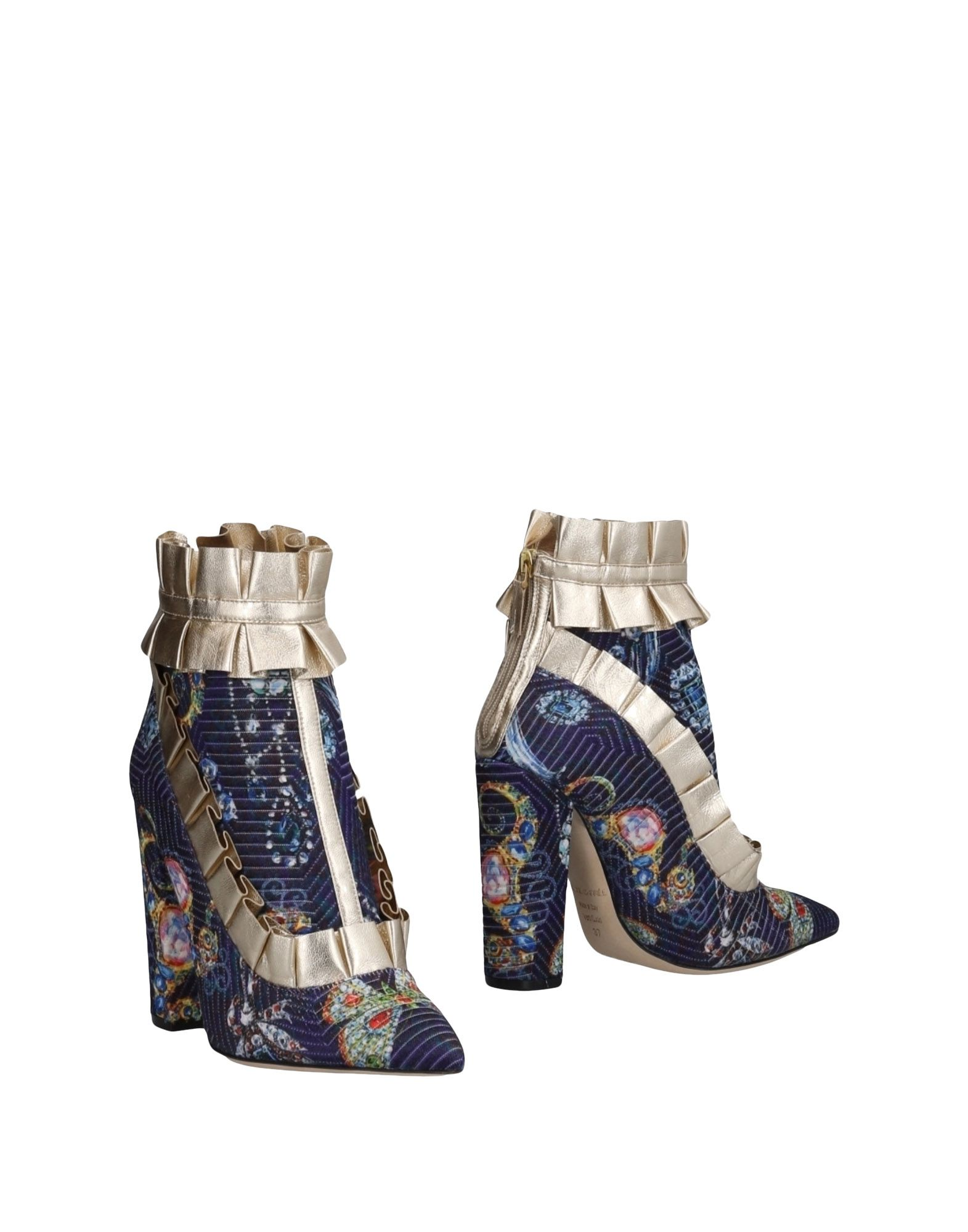 RACINE CARRÉE Ankle Boot in Purple