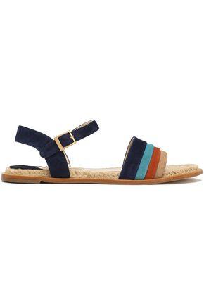 PALOMA BARCELÓ Color-block suede sandals
