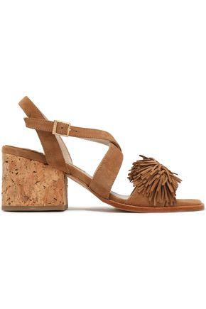 PALOMA BARCELÓ Neville fringed suede sandals