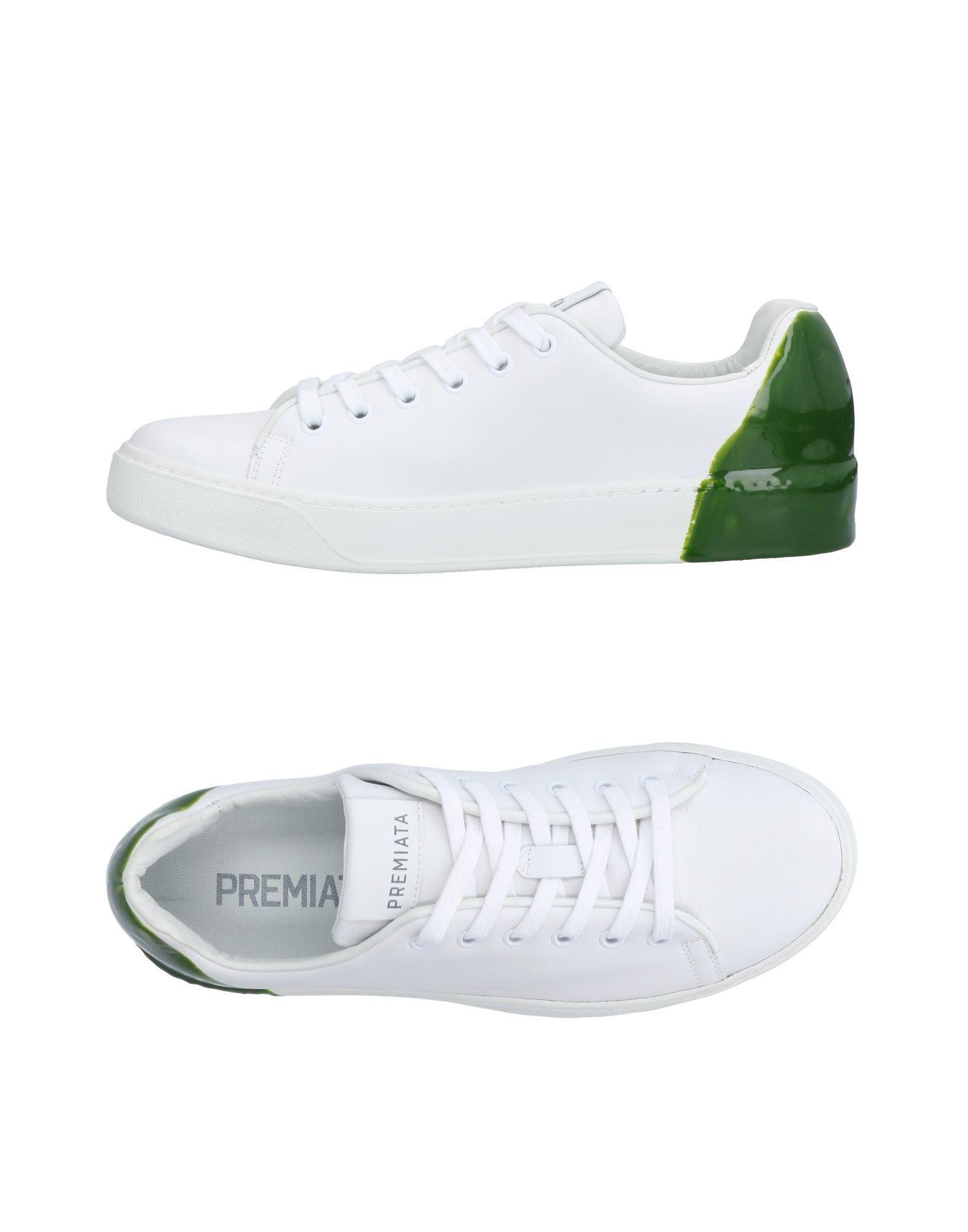 PREMIATA Низкие кеды и кроссовки premiata фактурные зеленые кроссовки
