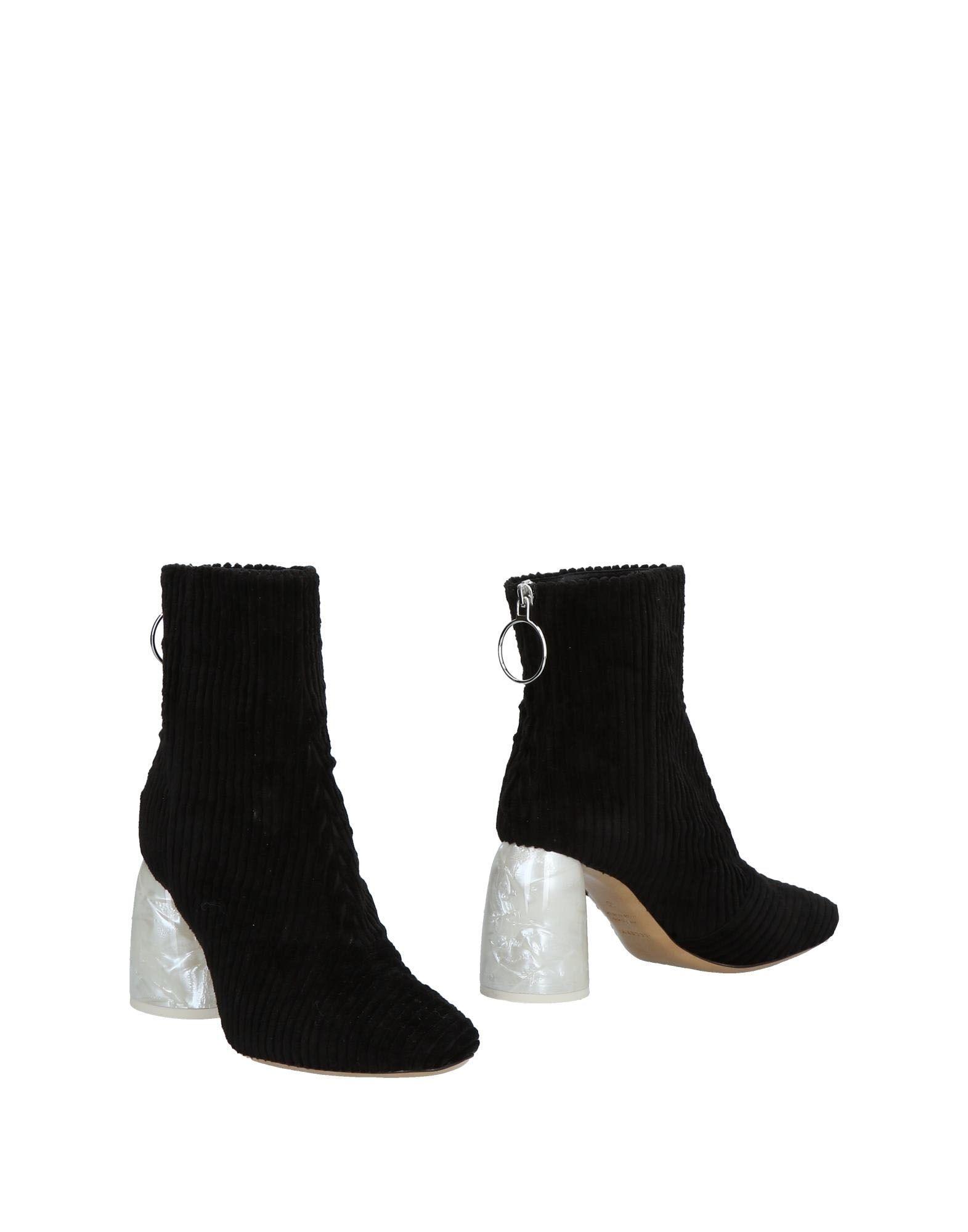 ELLERY Полусапоги и высокие ботинки ботинки из кожи 26 39