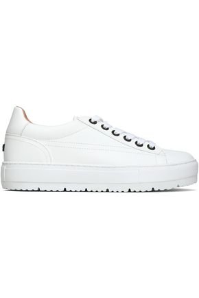 JIL SANDER NAVY Leather sneakers