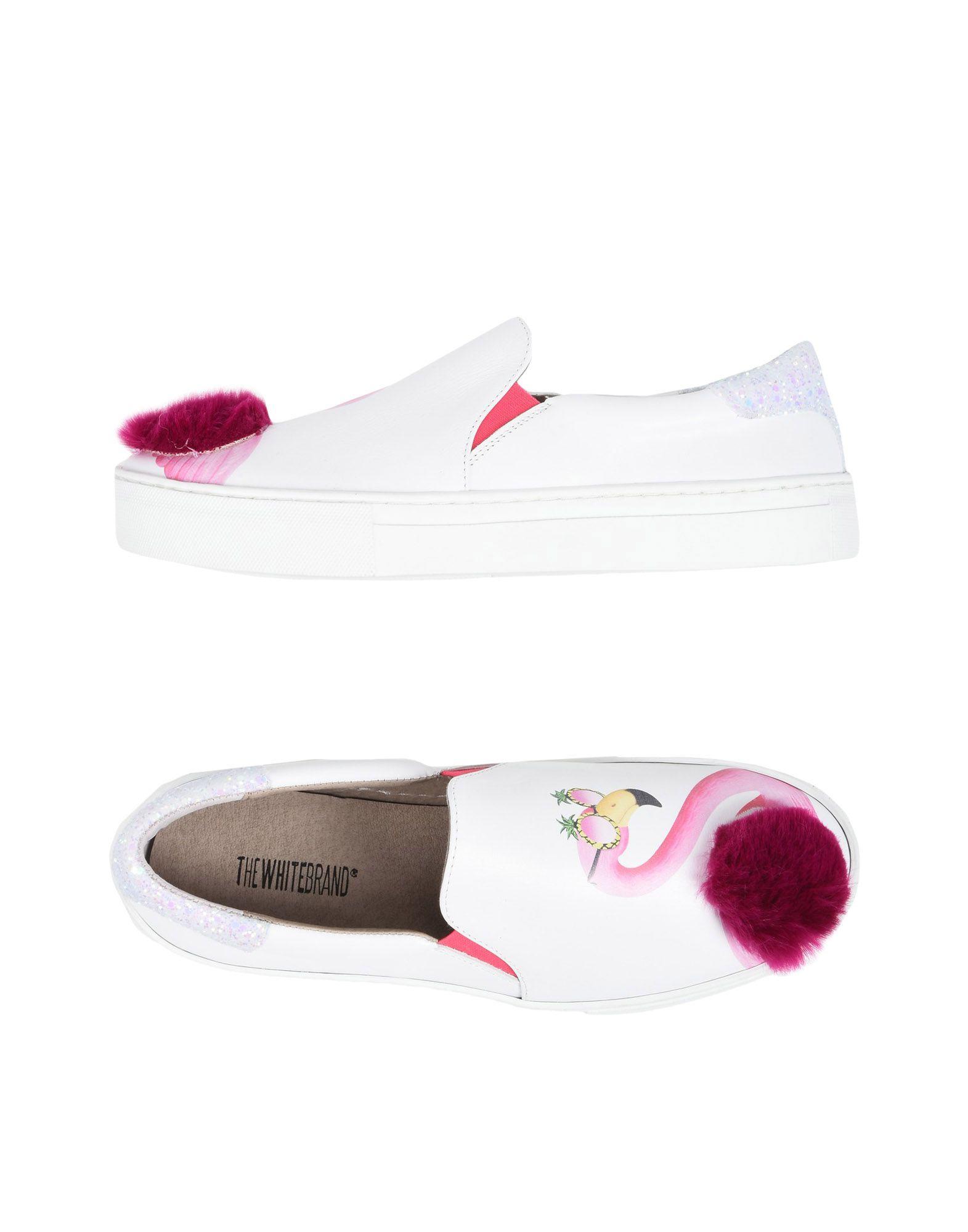 THE WHITE BRAND® Низкие кеды и кроссовки