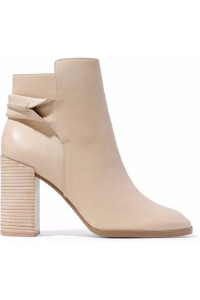 Carey Leather Ankle Boots by Mercedes Castillo