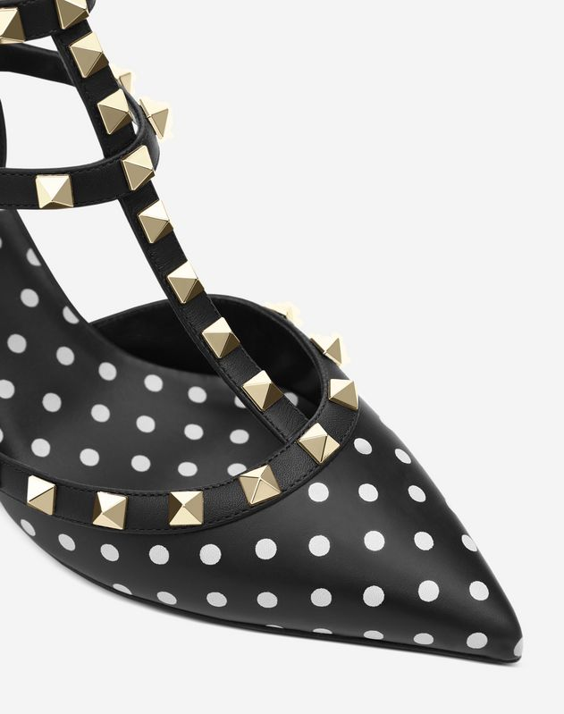 Rockstud Polka Dot Court