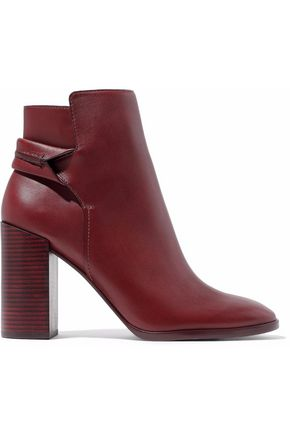 MERCEDES CASTILLO Carey leather ankle boots