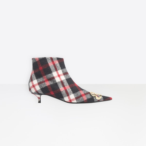 BB Booties Flannel