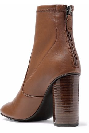 MERCEDES CASTILLO Dessa stretch-leather ankle boots