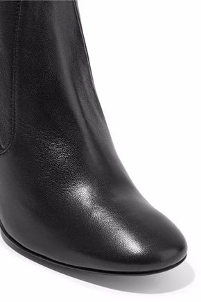 MERCEDES CASTILLO Dessa stretch-leather ankle boots