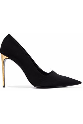 STELLA McCARTNEY Faux suede pumps