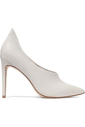 RACHEL ZOE Carson leather pumps