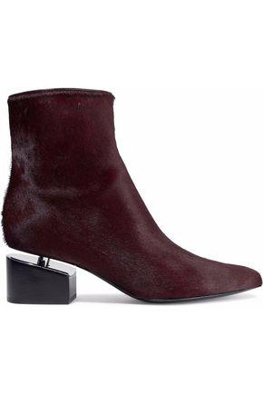 ALEXANDER WANG Jude calf-hair ankle boots