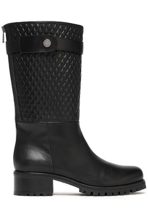 BELSTAFF Quilted leather boots