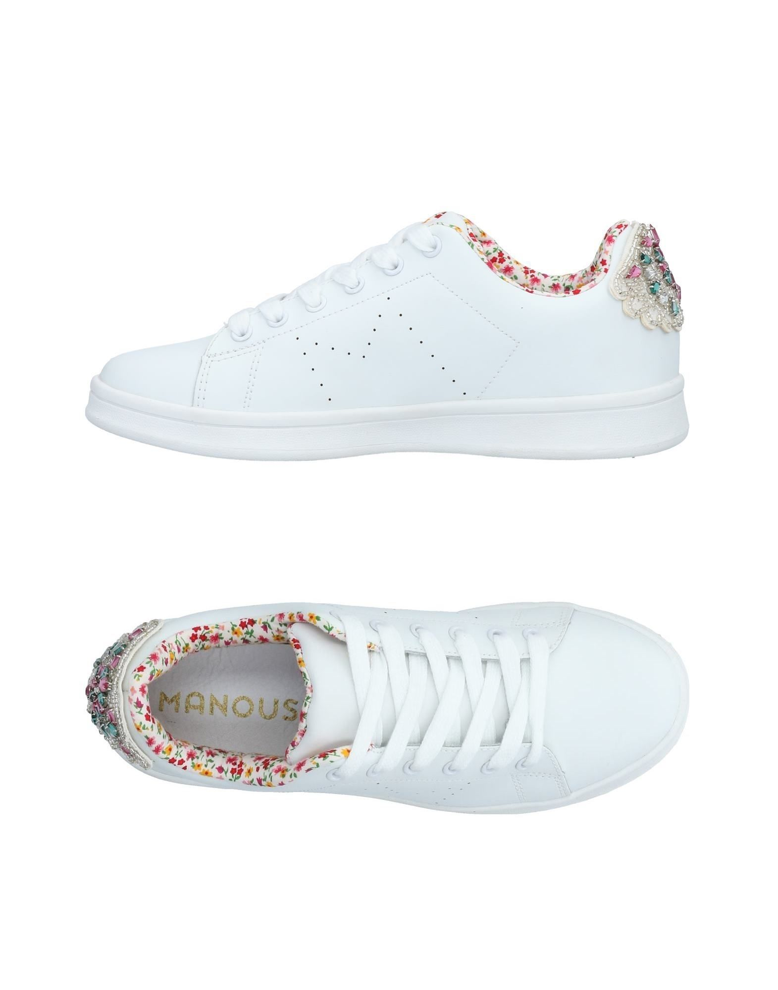 MANOUSH Sneakers in White