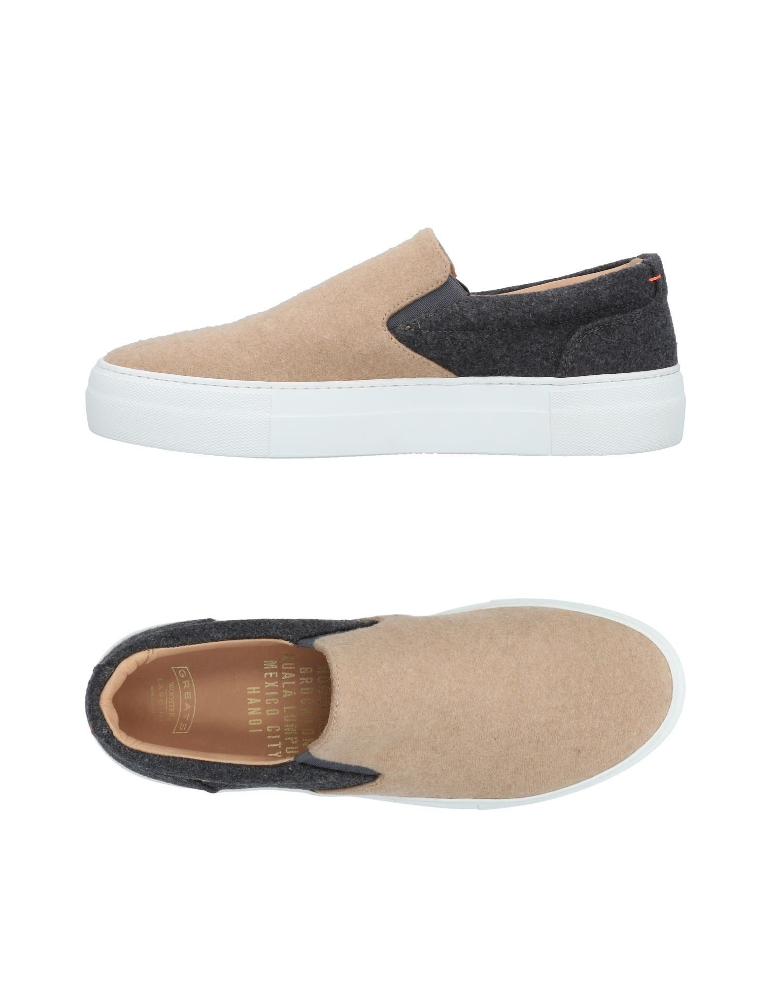 GREATS Sneakers in Grey