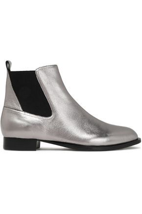 RAG & BONE Mason metallic leather ankle boots