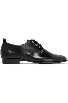 RAG & BONE Audrey glossed-leather brogues