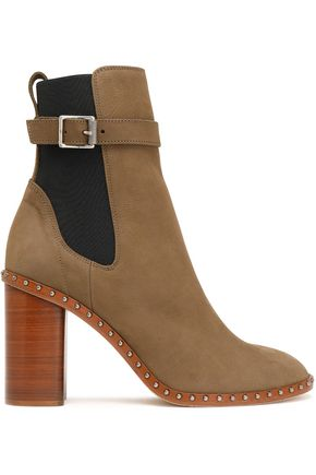 RAG & BONE Romi buckled leather ankle boots