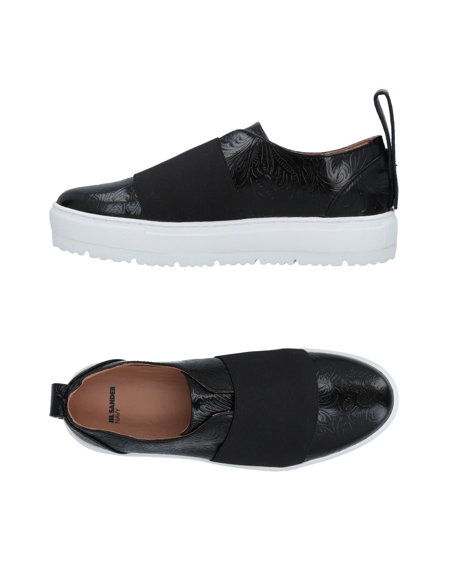 JIL SANDER NAVY Низкие кеды и кроссовки кеды кроссовки низкие element topaz navy paisley